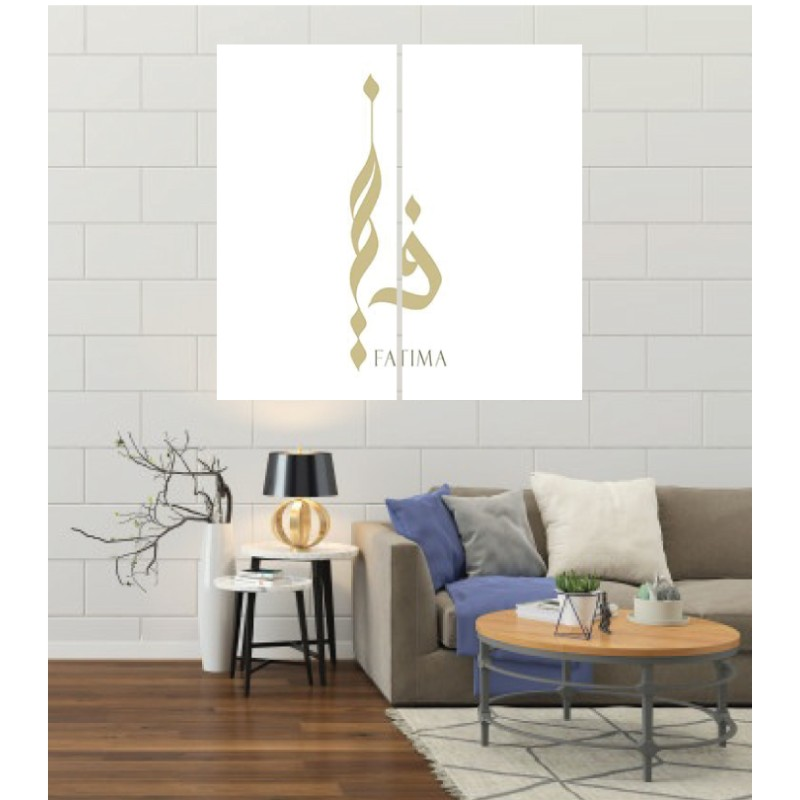 Wall Frames 2 Pieces Set Canvas – Digitally Printed Wall Canvas F-104