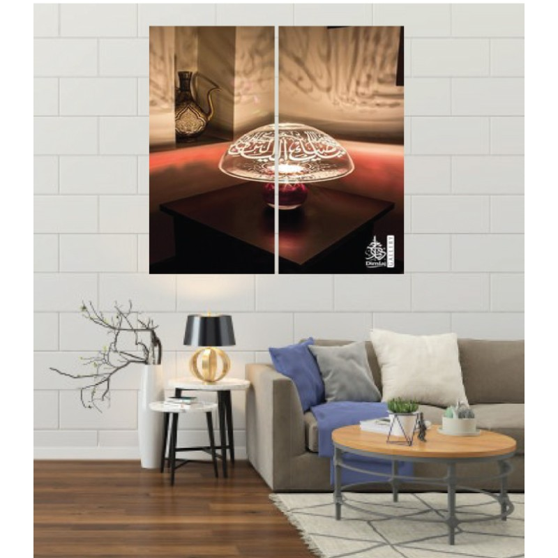 Wall Frames 2 Pieces Set Canvas – Digitally Printed Wall Canvas F-106