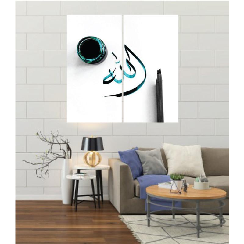 Wall Frames 2 Pieces Set Canvas – Digitally Printed Wall Canvas F-145