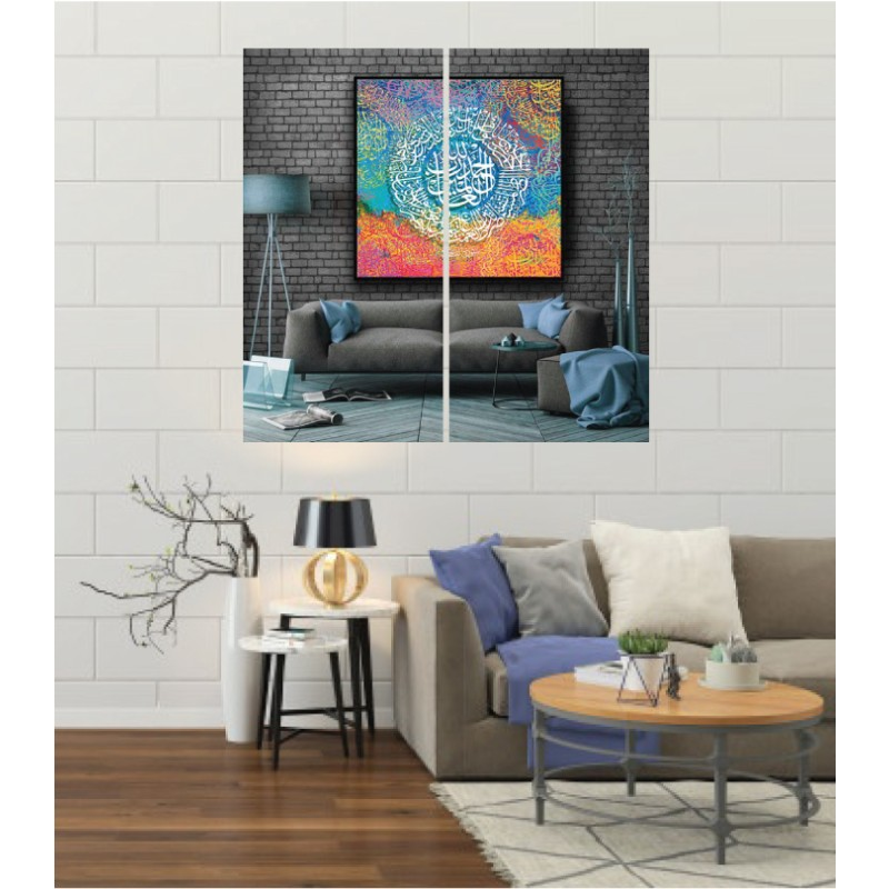 Wall Frames 2 Pieces Set Canvas – Digitally Printed Wall Canvas F-15