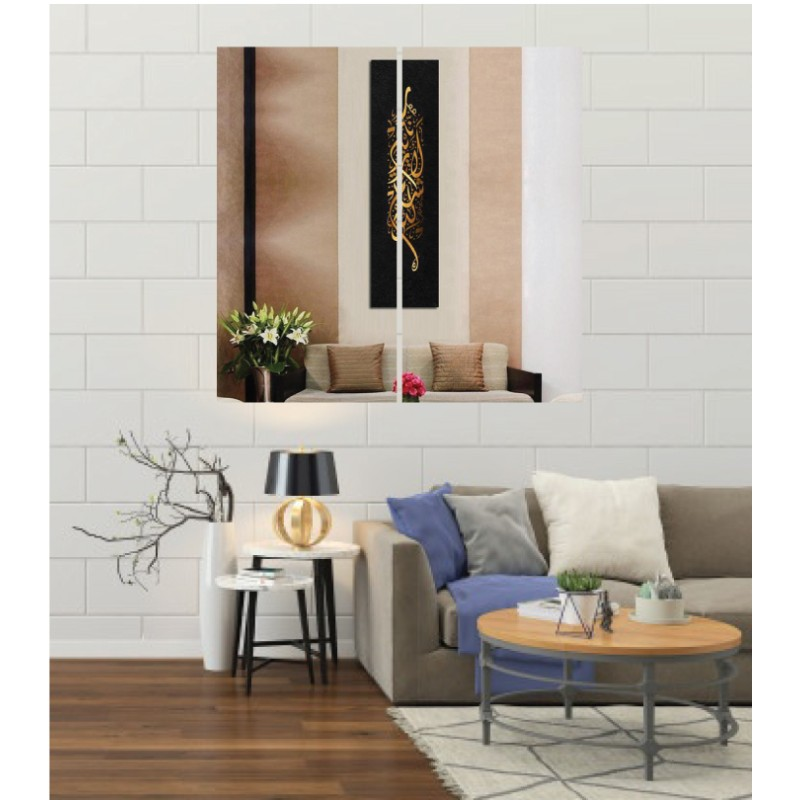 Wall Frames 2 Pieces Set Canvas – Digitally Printed Wall Canvas F-158