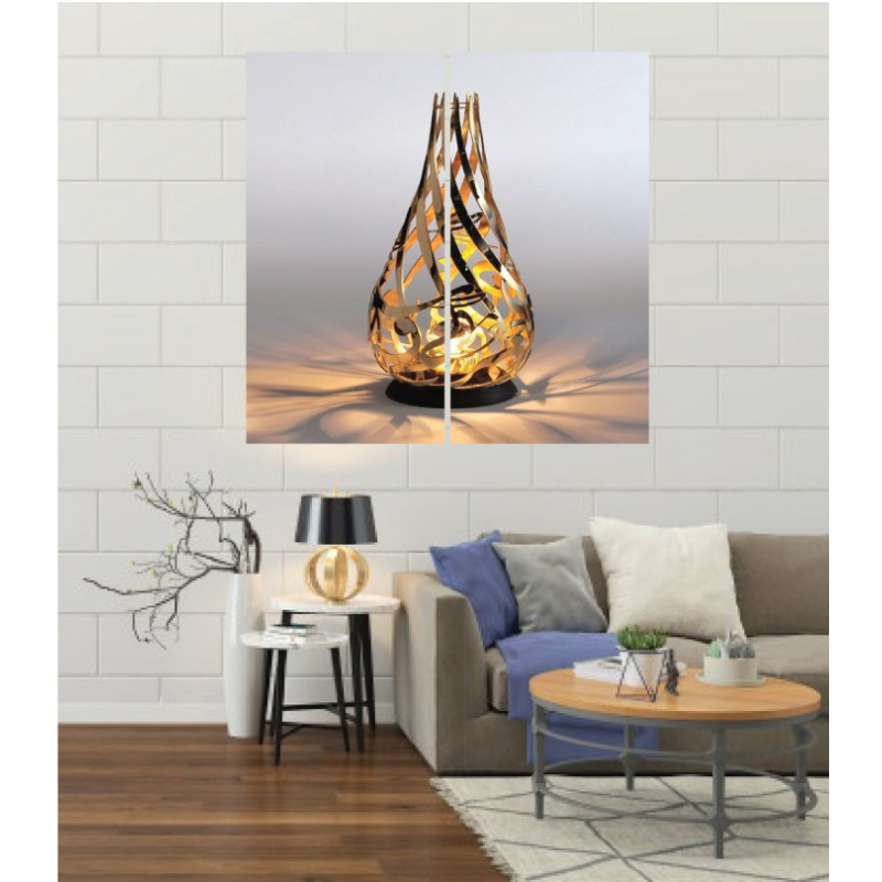 Wall Frames 2 Pieces Set Canvas – Digitally Printed Wall Canvas F-160