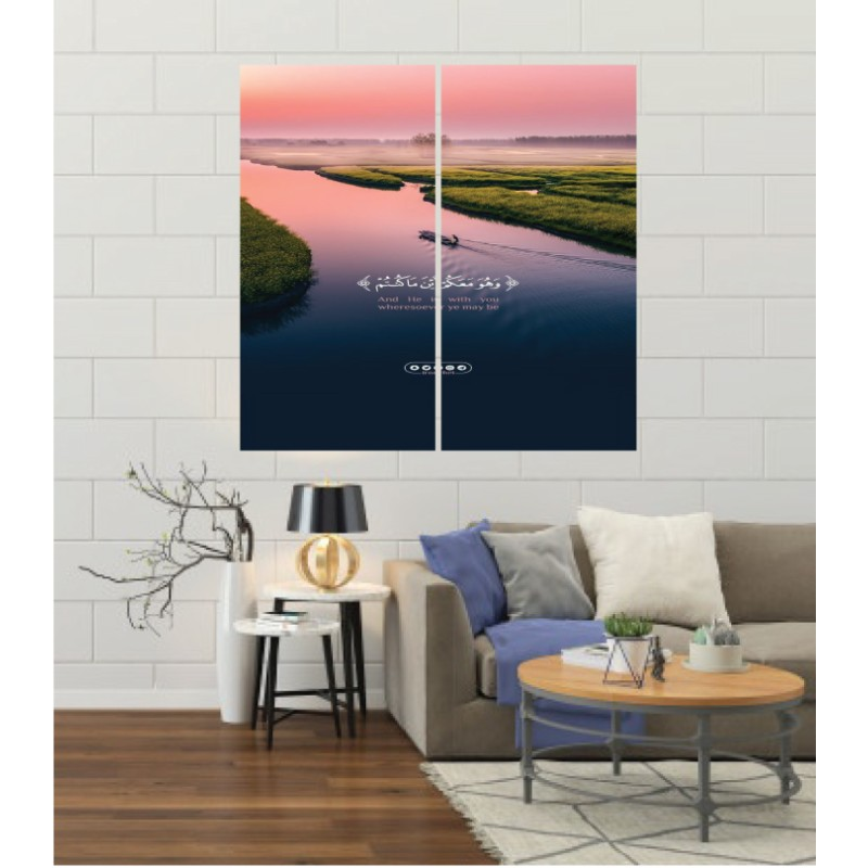 Wall Frames 2 Pieces Set Canvas – Digitally Printed Wall Canvas F-169