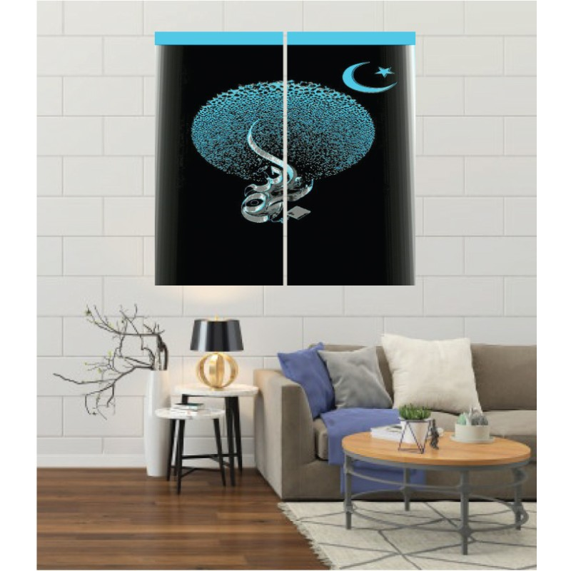 Wall Frames 2 Pieces Set Canvas – Digitally Printed Wall Canvas F-179
