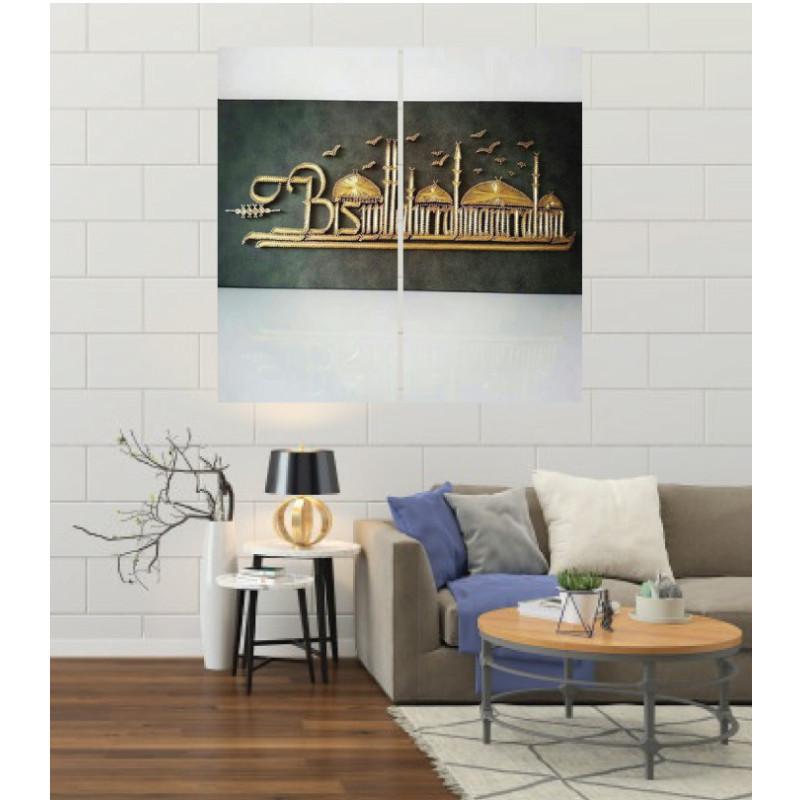 Wall Frames 2 Pieces Set Canvas – Digitally Printed Wall Canvas F-22