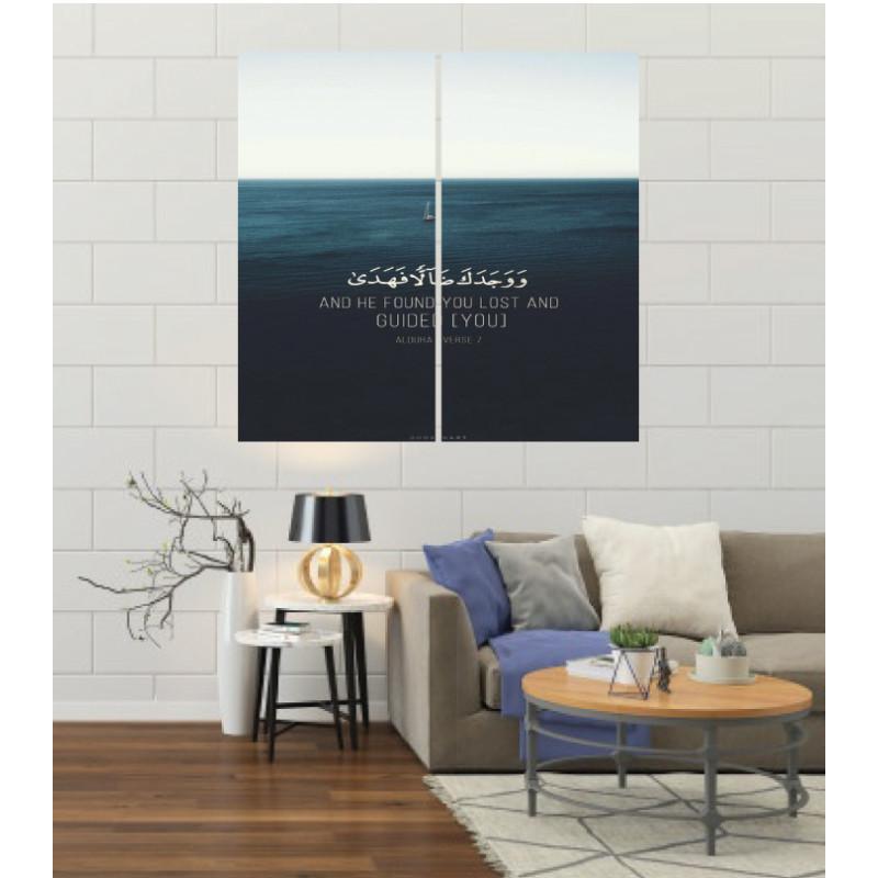 Wall Frames 2 Pieces Set Canvas – Digitally Printed Wall Canvas F-24