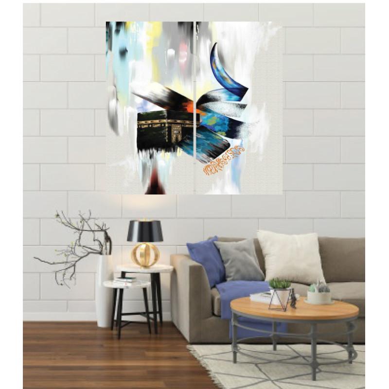 Wall Frames 2 Pieces Set Canvas – Digitally Printed Wall Canvas F-45