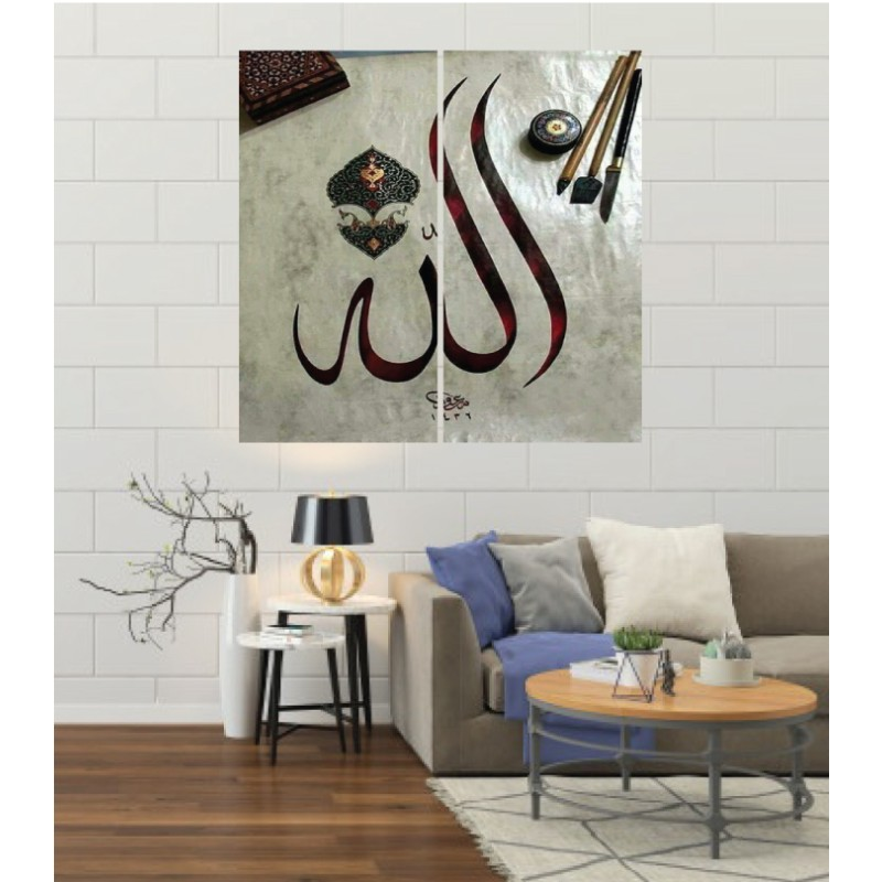 Wall Frames 2 Pieces Set Canvas – Digitally Printed Wall Canvas F-7
