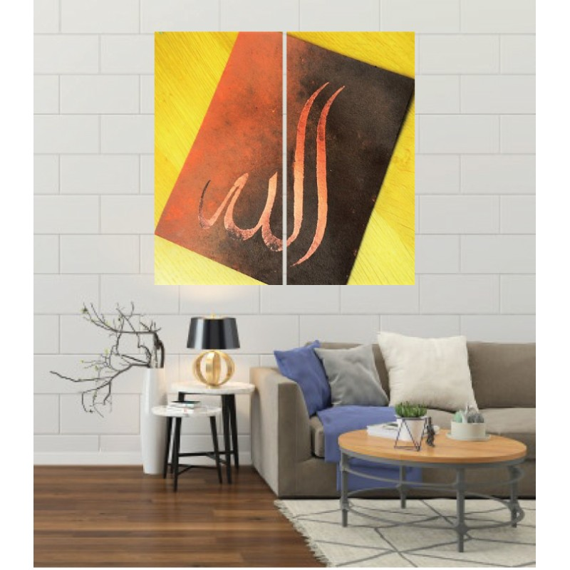 Wall Frames 2 Pieces Set Canvas – Digitally Printed Wall Canvas F-95