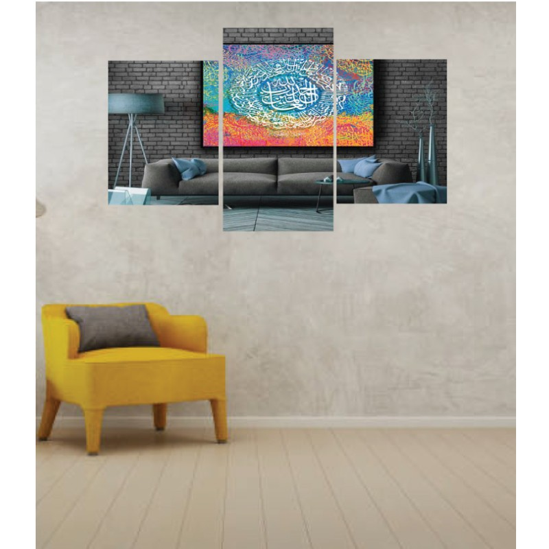 Wall Frames 3 Pieces Set Canvas – Digitally Printed Wall Canvas TI-15