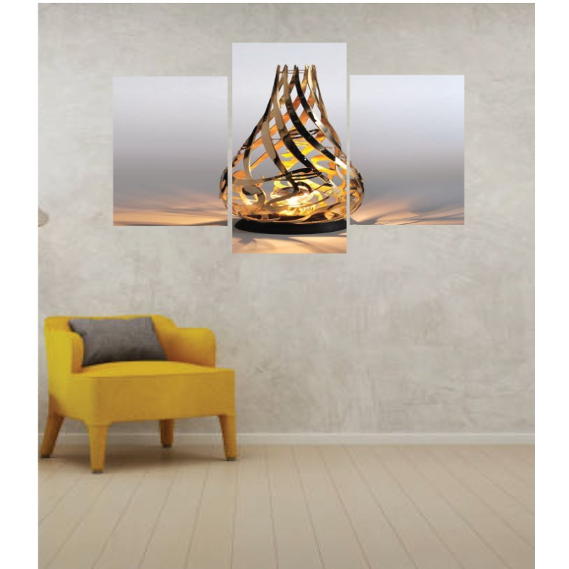 Wall Frames 3 Pieces Set Canvas – Digitally Printed Wall Canvas TI-160