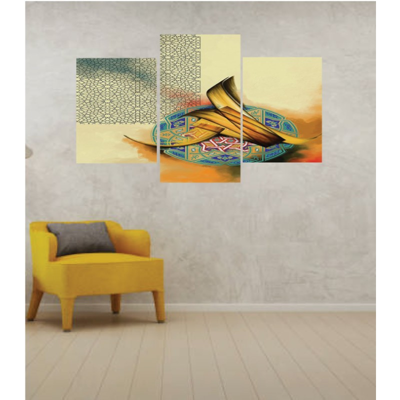 Wall Frames 3 Pieces Set Canvas – Digitally Printed Wall Canvas TI-161