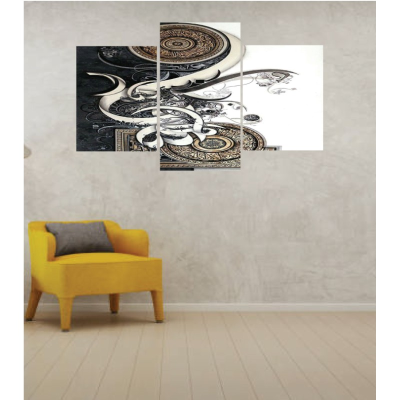Wall Frames 3 Pieces Set Canvas – Digitally Printed Wall Canvas TI-25