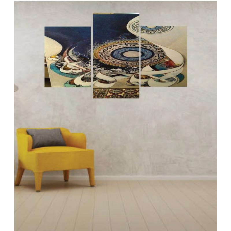 Wall Frames 3 Pieces Set Canvas – Digitally Printed Wall Canvas TI-67