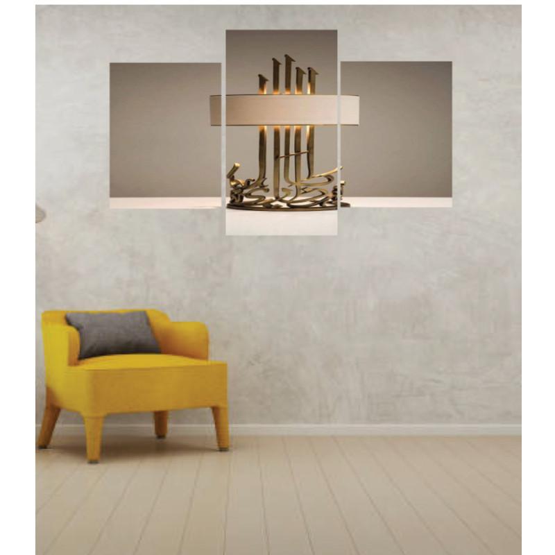 Wall Frames 3 Pieces Set Canvas – Digitally Printed Wall Canvas TI-10