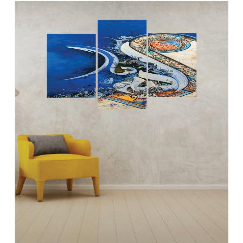 Wall Frames 3 Pieces Set Canvas – Digitally Printed Wall Canvas TI-109