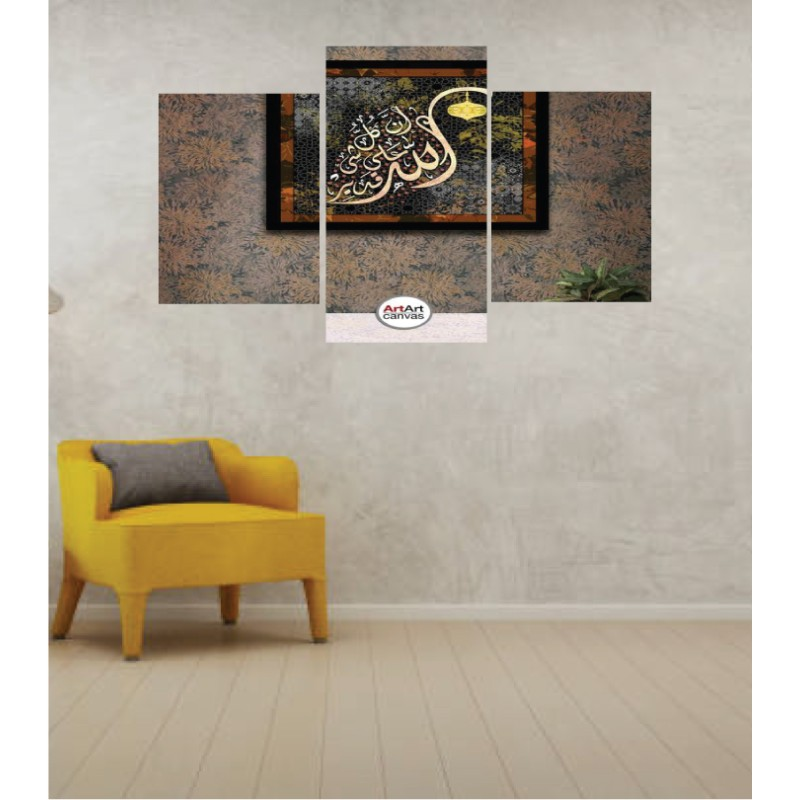 Wall Frames 3 Pieces Set Canvas – Digitally Printed Wall Canvas TI-111