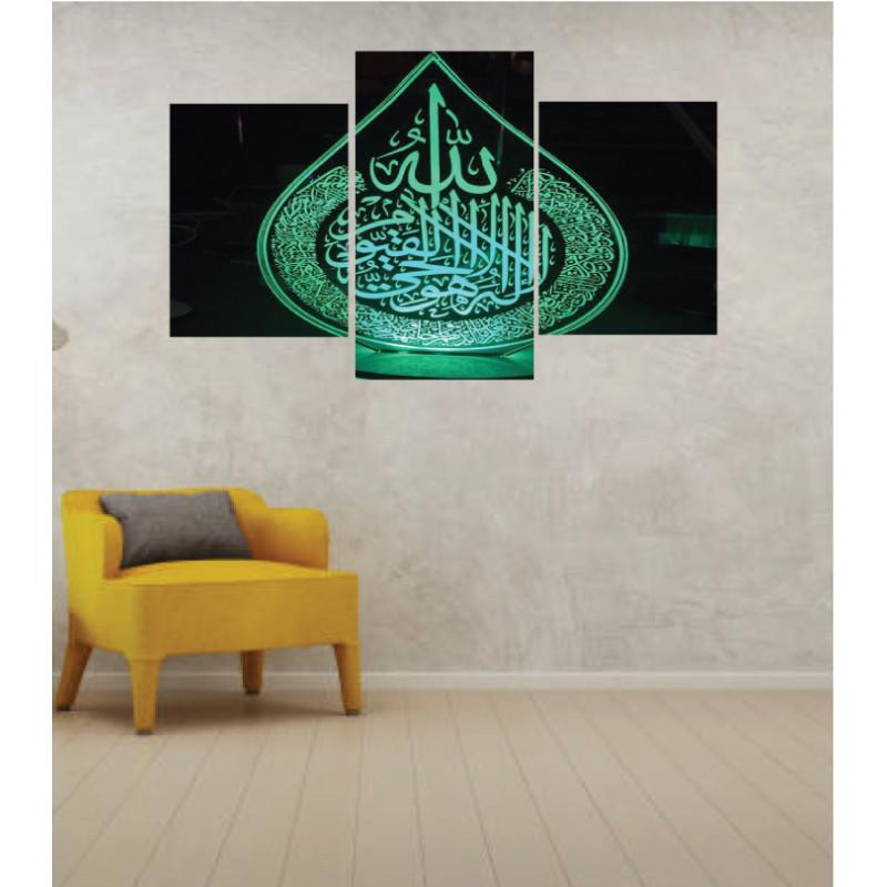 Wall Frames 3 Pieces Set Canvas – Digitally Printed Wall Canvas TI-113