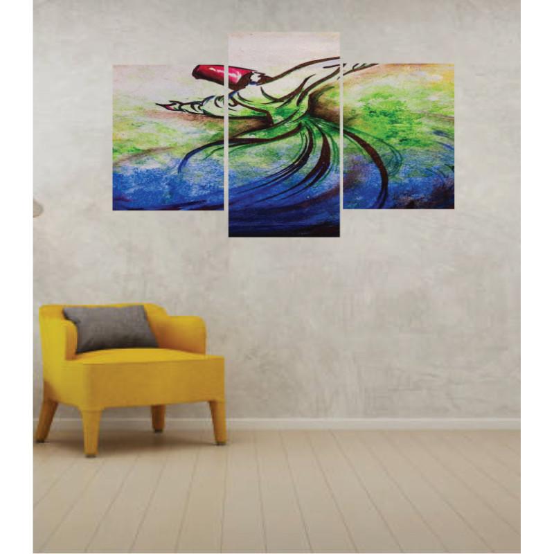 Wall Frames 3 Pieces Set Canvas – Digitally Printed Wall Canvas TI-116