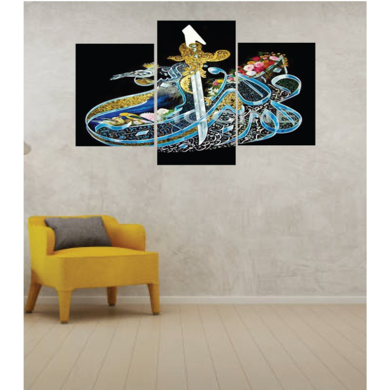 Wall Frames 3 Pieces Set Canvas – Digitally Printed Wall Canvas TI-124