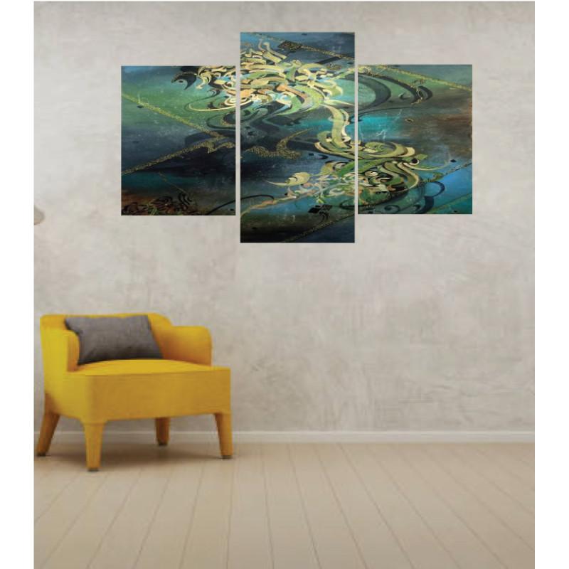 Wall Frames 3 Pieces Set Canvas – Digitally Printed Wall Canvas TI-128
