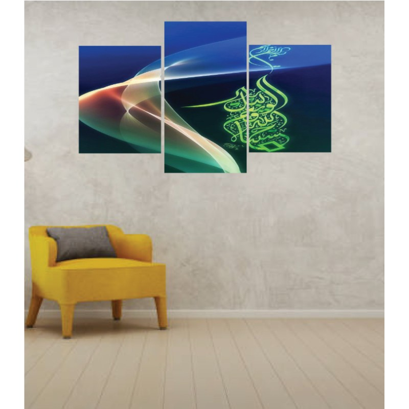 Wall Frames 3 Pieces Set Canvas – Digitally Printed Wall Canvas TI-133