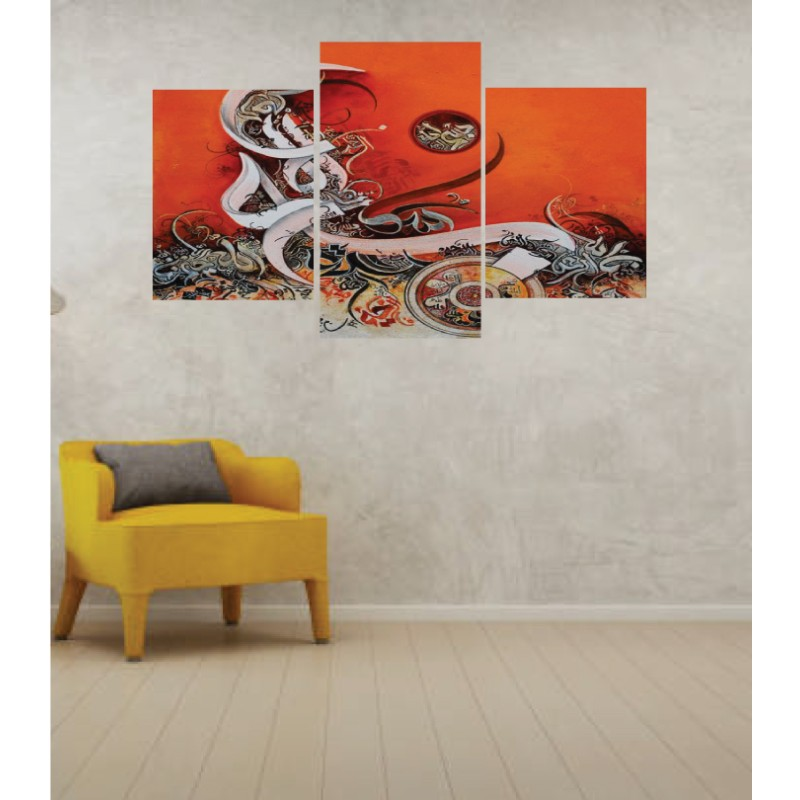 Wall Frames 3 Pieces Set Canvas – Digitally Printed Wall Canvas TI-135