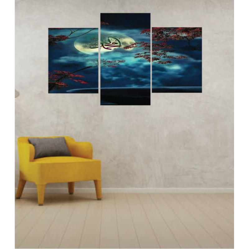 Wall Frames 3 Pieces Set Canvas – Digitally Printed Wall Canvas TI-137