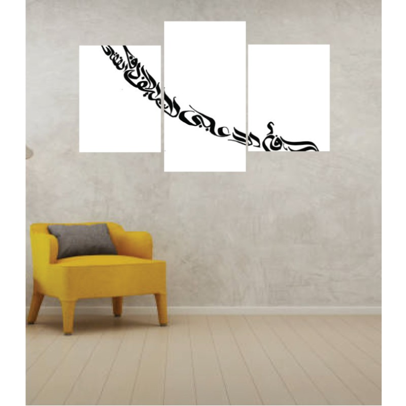 Wall Frames 3 Pieces Set Canvas – Digitally Printed Wall Canvas TI-138