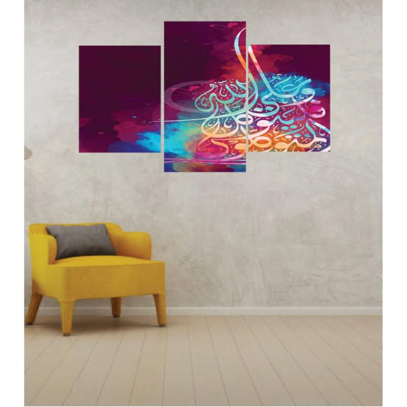 Wall Frames 3 Pieces Set Canvas – Digitally Printed Wall Canvas TI-139