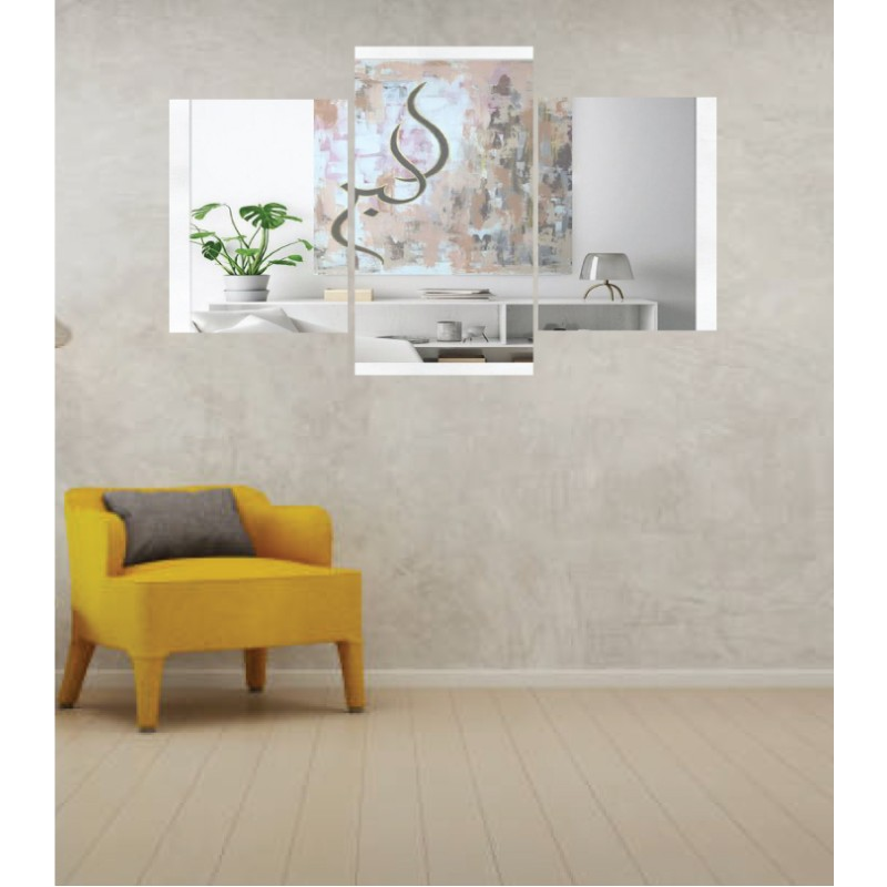 Wall Frames 3 Pieces Set Canvas – Digitally Printed Wall Canvas TI-140
