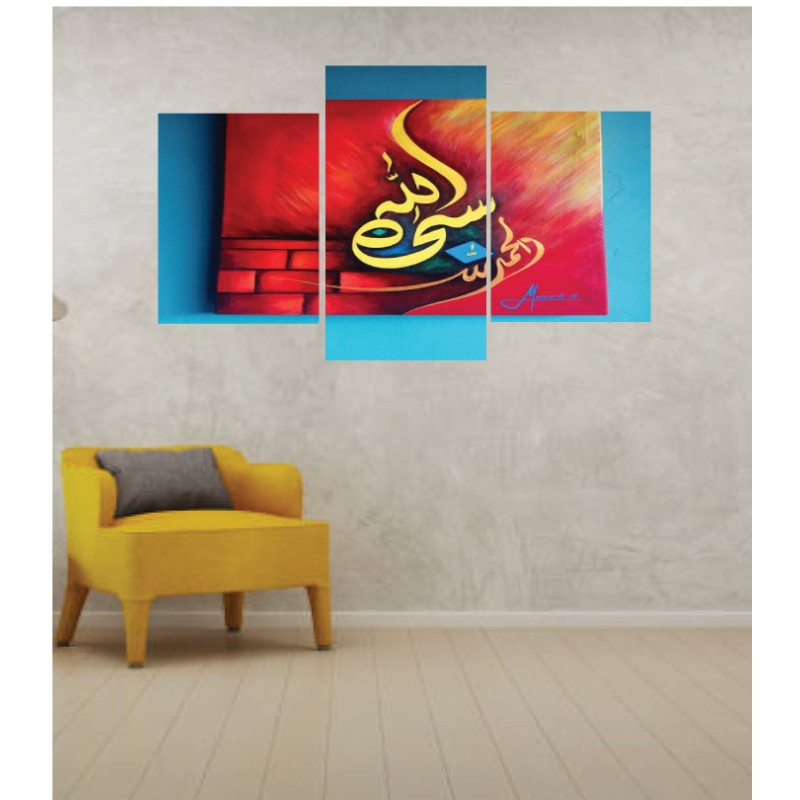 Wall Frames 3 Pieces Set Canvas – Digitally Printed Wall Canvas TI-142