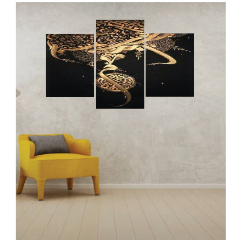 Wall Frames 3 Pieces Set Canvas – Digitally Printed Wall Canvas TI-144