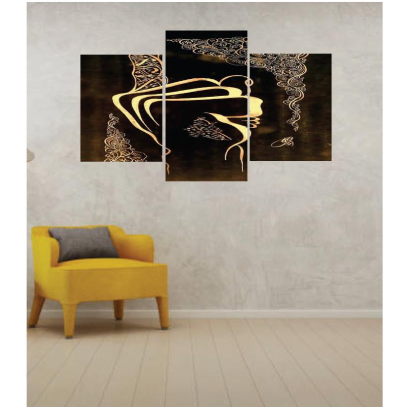 Wall Frames 3 Pieces Set Canvas – Digitally Printed Wall Canvas TI-156