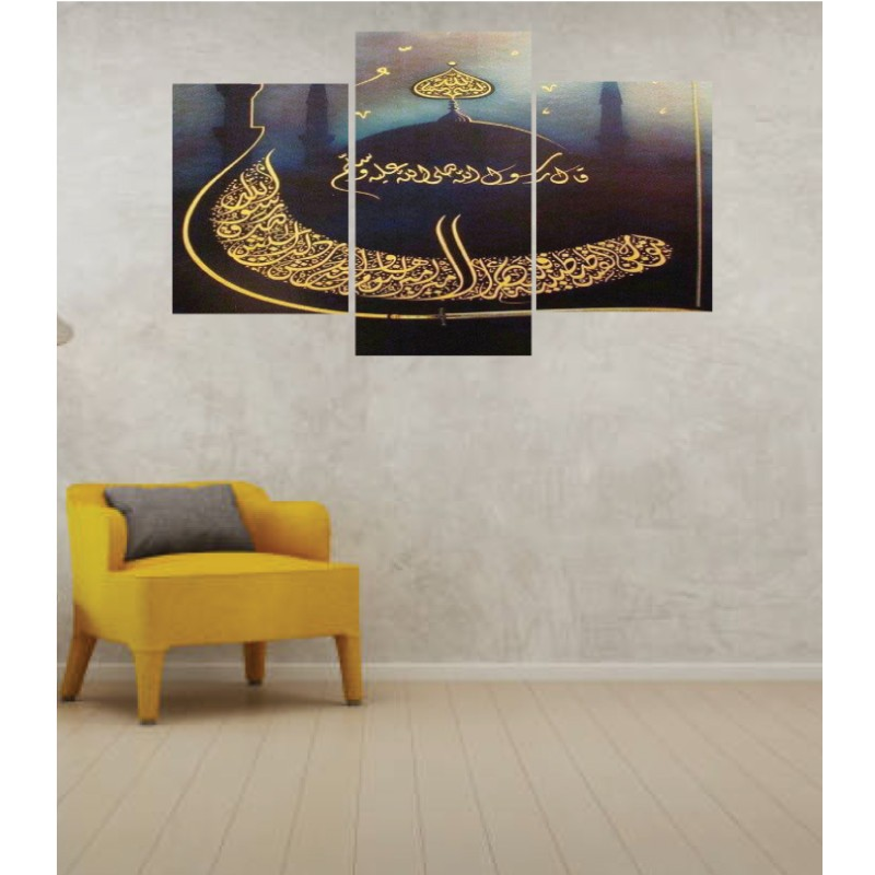 Wall Frames 3 Pieces Set Canvas – Digitally Printed Wall Canvas TI-17