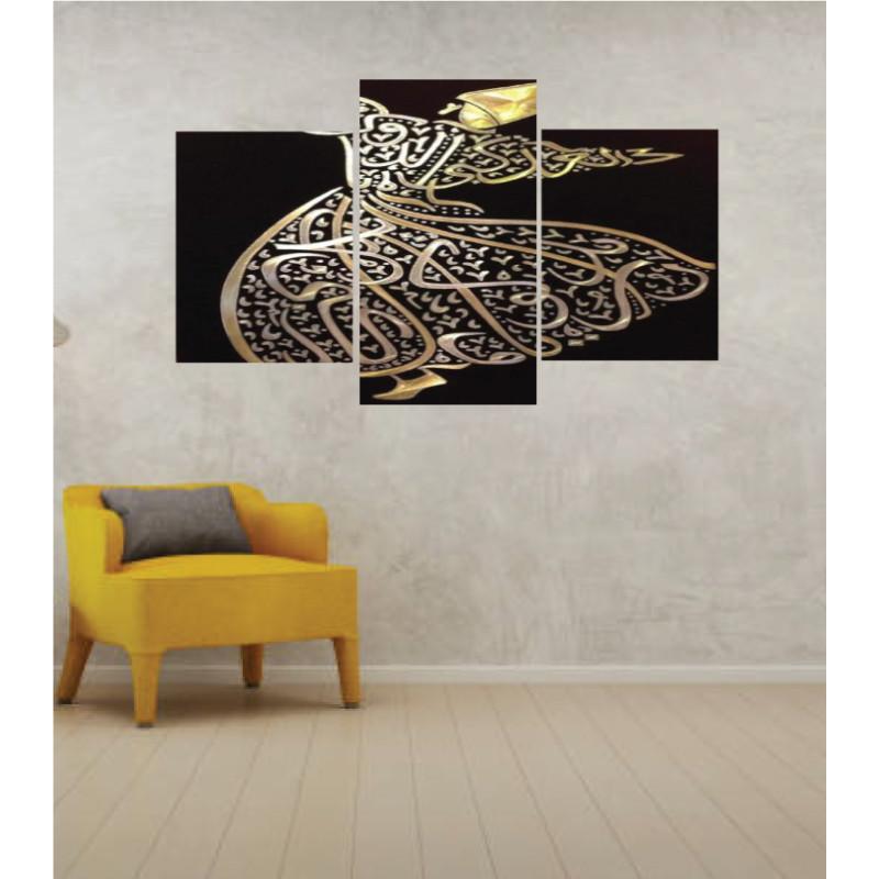 Wall Frames 3 Pieces Set Canvas – Digitally Printed Wall Canvas TI-175