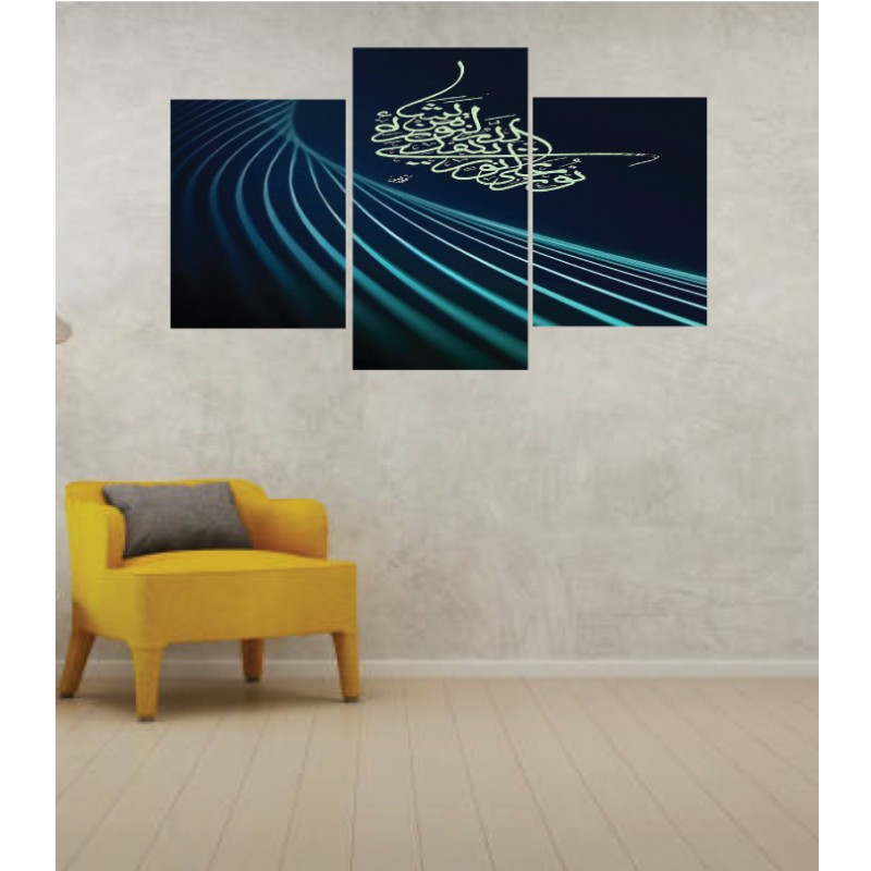 Wall Frames 3 Pieces Set Canvas – Digitally Printed Wall Canvas TI-20