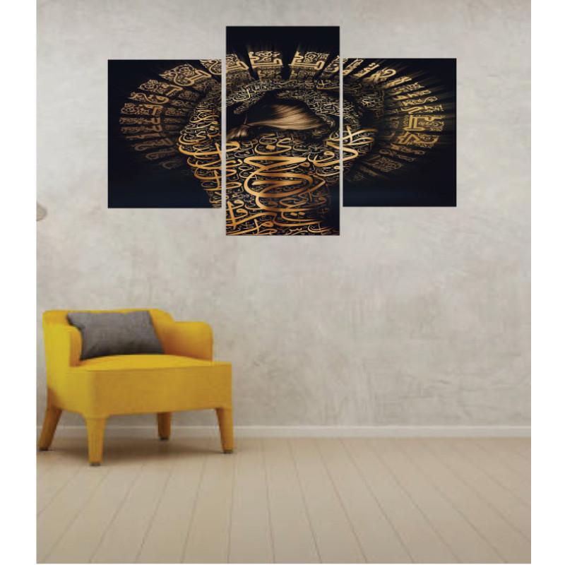 Wall Frames 3 Pieces Set Canvas – Digitally Printed Wall Canvas TI-34