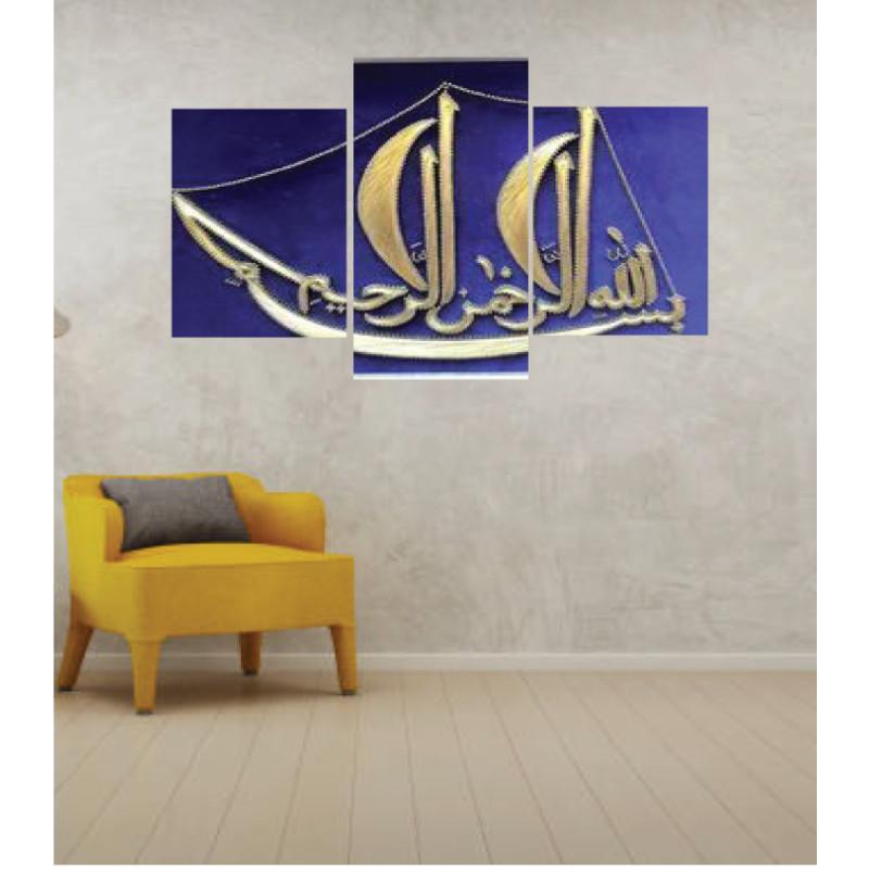 Wall Frames 3 Pieces Set Canvas – Digitally Printed Wall Canvas TI-37