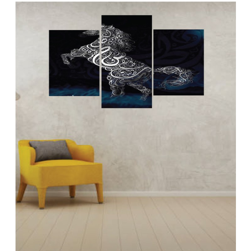 Wall Frames 3 Pieces Set Canvas – Digitally Printed Wall Canvas TI-44