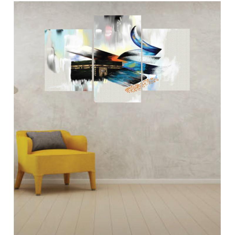 Wall Frames 3 Pieces Set Canvas – Digitally Printed Wall Canvas TI-45