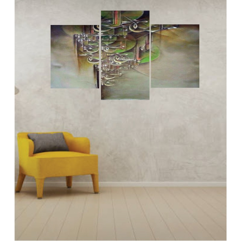 Wall Frames 3 Pieces Set Canvas – Digitally Printed Wall Canvas TI-57