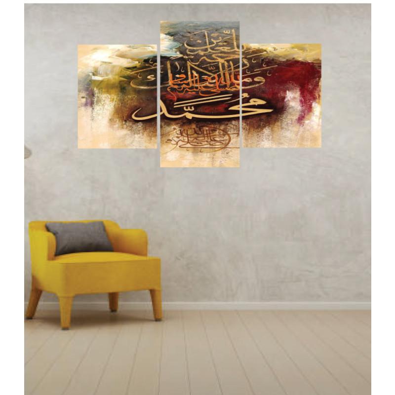 Wall Frames 3 Pieces Set Canvas – Digitally Printed Wall Canvas TI-6