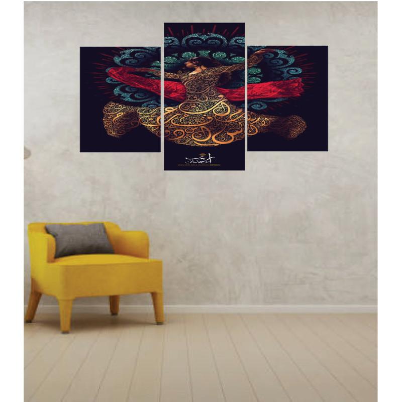 Wall Frames 3 Pieces Set Canvas – Digitally Printed Wall Canvas TI-66