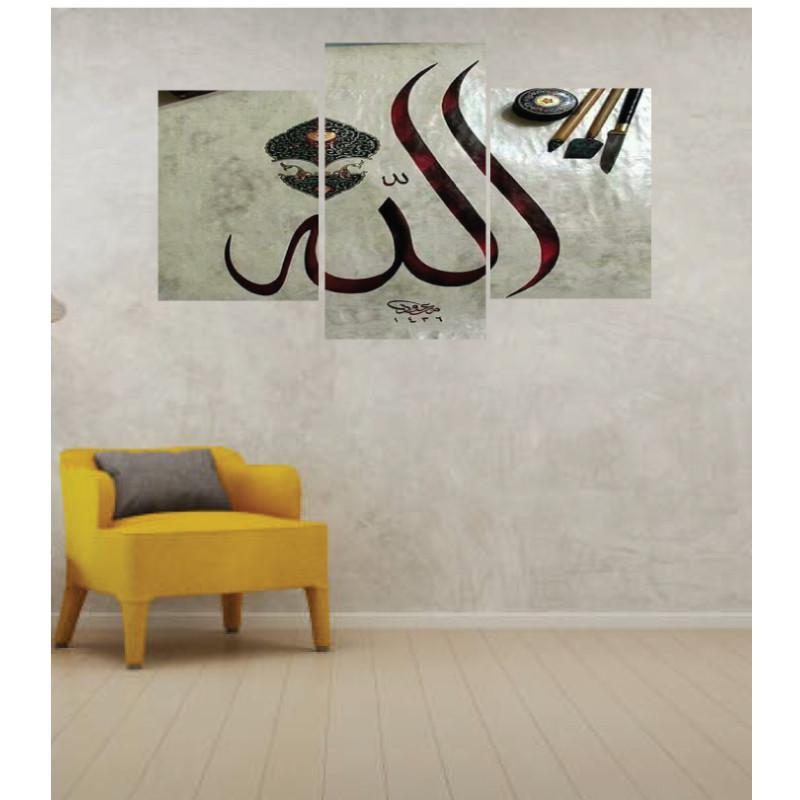 Wall Frames 3 Pieces Set Canvas – Digitally Printed Wall Canvas TI-7