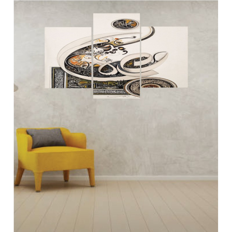 Wall Frames 3 Pieces Set Canvas – Digitally Printed Wall Canvas TI-93