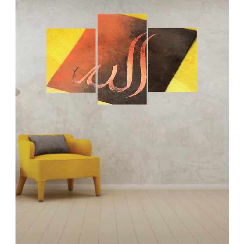 Wall Frames 3 Pieces Set Canvas – Digitally Printed Wall Canvas TI-95
