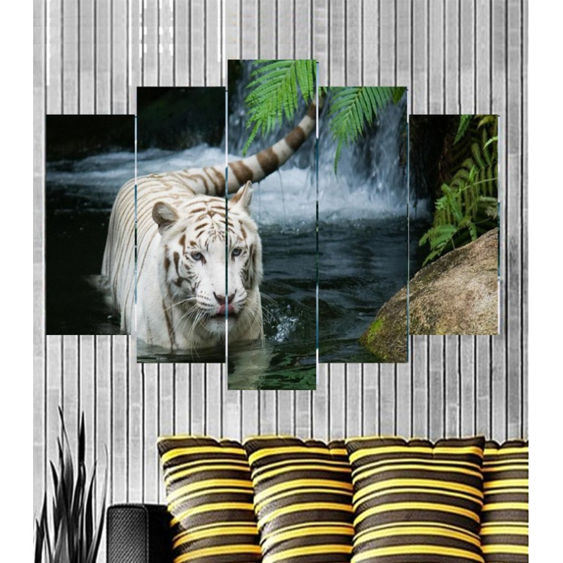 Wall Frames 5 Pieces Set Canvas - Digitally Printed Wall Canvas Frames post-1