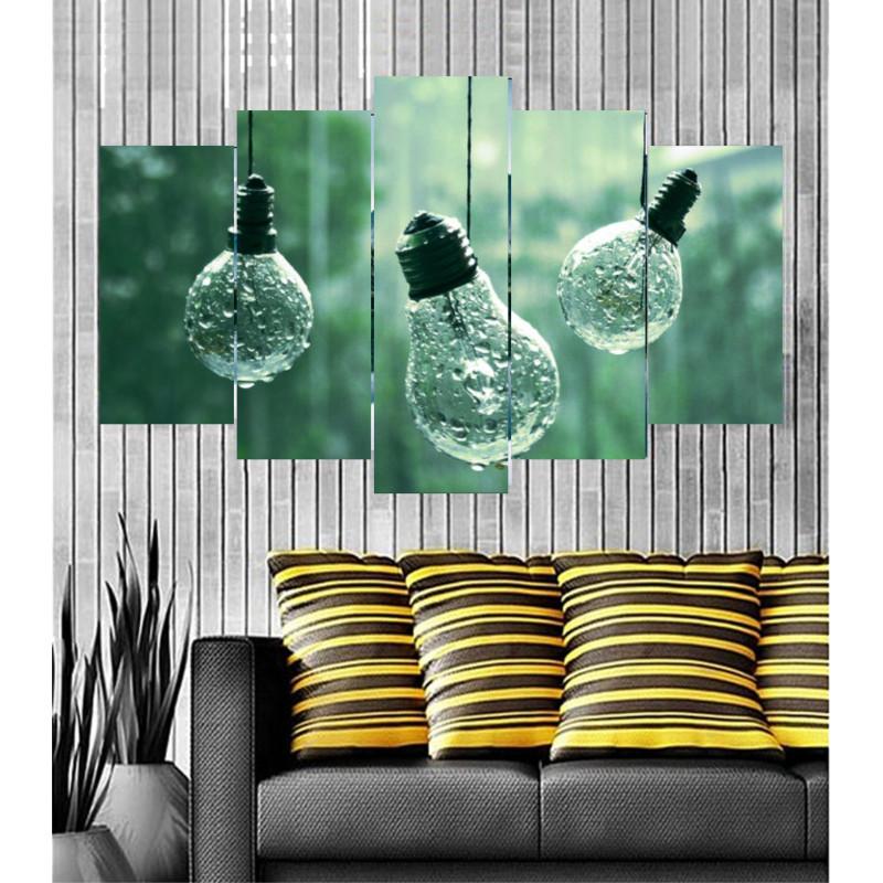 Wall Frames 5 Pieces Set Canvas - Digitally Printed Wall Canvas Frames post-10