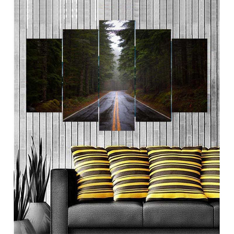 Wall Frames 5 Pieces Set Canvas - Digitally Printed Wall Canvas  post-11
